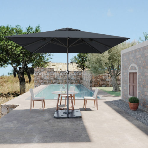 portfolio Le Studio 3D - ambiance méditerranéenne pour un visuel 3D de mobilier extérieur
