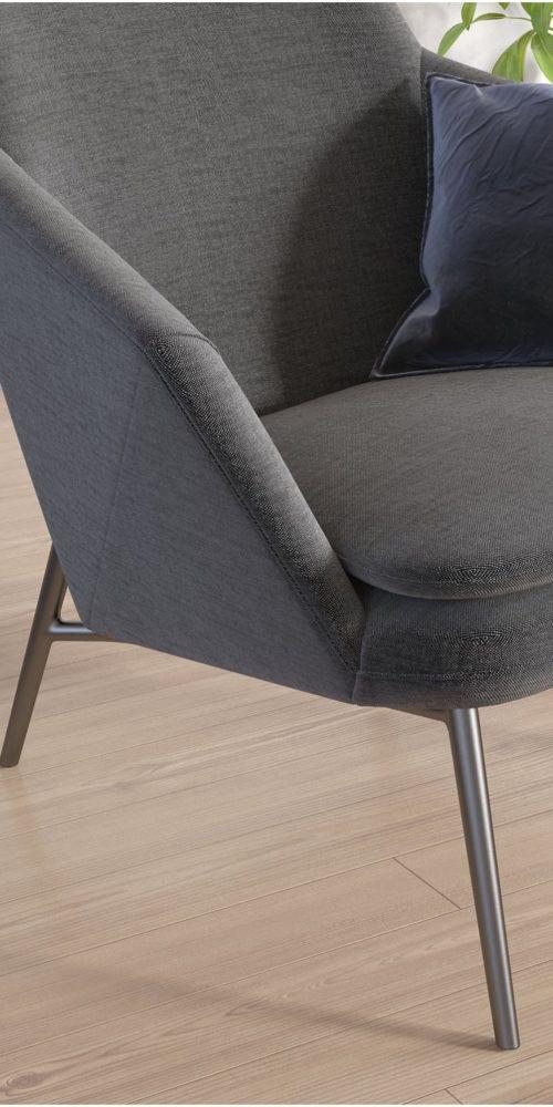 Visualisation 3D d'un fauteuil