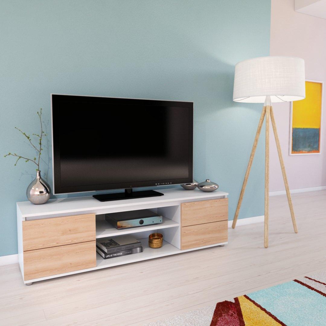 service rendu 3D mobilier et mise en situation 3D meuble TV