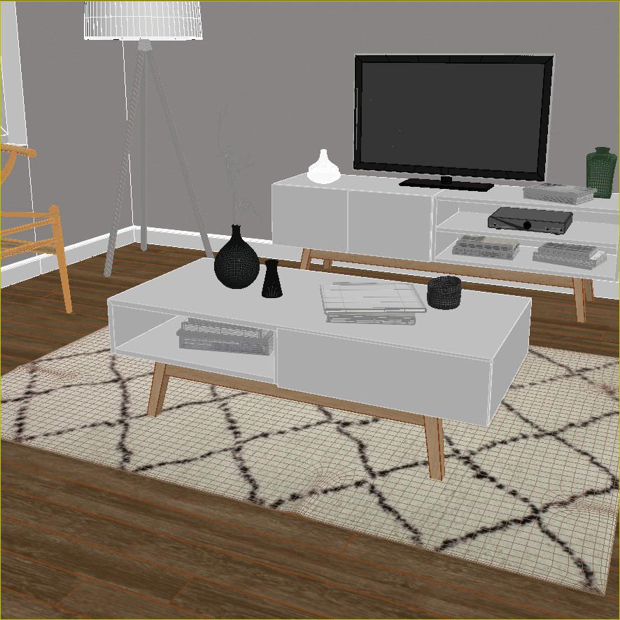 ajout des couleurs et des textures à la modélisation 3D de meuble