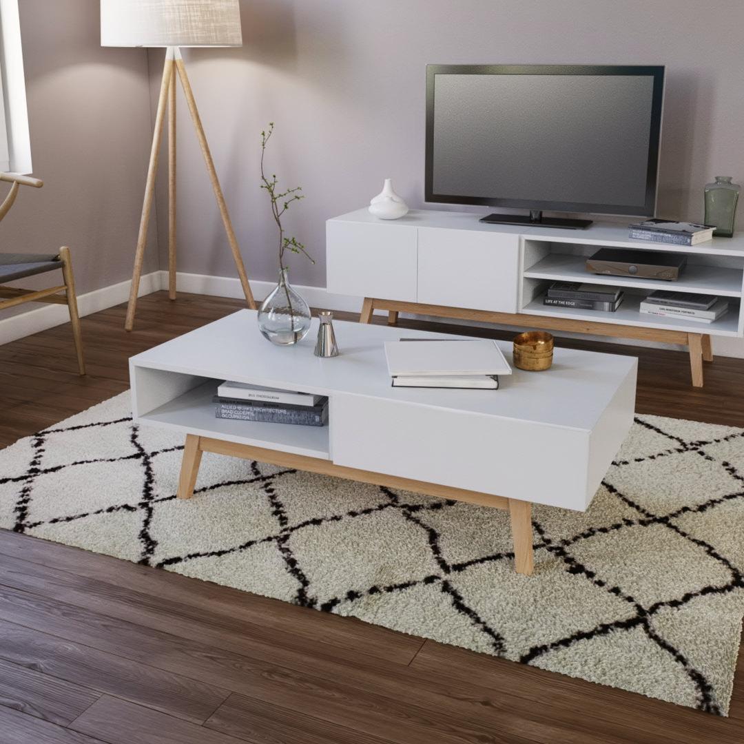 rendu 3D meuble mise en ambiance scandinave prix d'une visualisation 3D de meuble