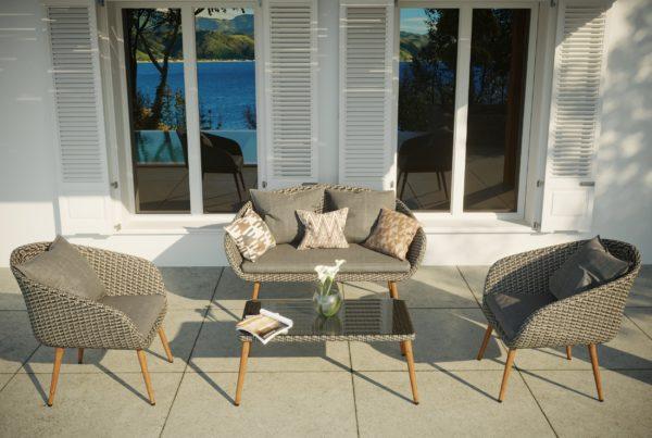 visualisation 3D meuble extérieur