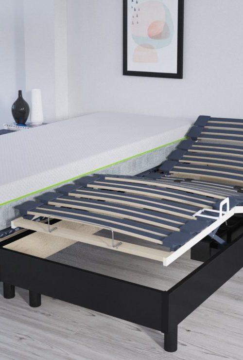 modélisation et rendu 3D d'un sommier électrique pour une animation vidéo 3D de meuble