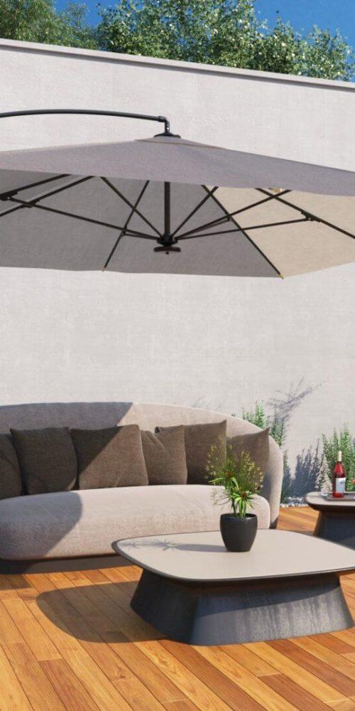 visualisation 3D extérieure de meuble