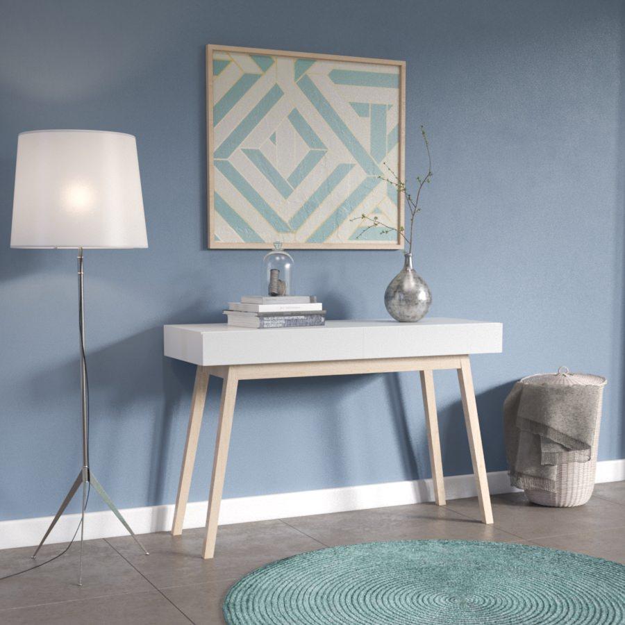 visuel 3D pas cher - mobilier dans ambiance scandinave