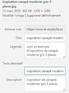 comment intégrer une photo sur WordPress correctement pour un bon référencement SEO