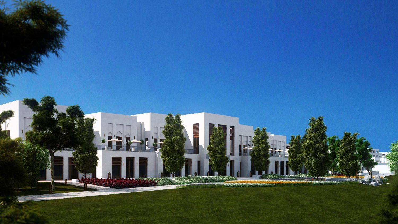 perspective 3D architecture extérieure