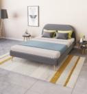 déclinaison de la mise en ambiance d'un lit modélisation 3D