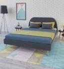 image de synthèse 3D d'un lit dans un environnement lifestyle