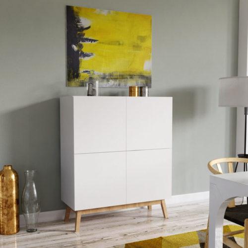 réalisation d'un visuel 3D pour mettre en valeur un meuble français