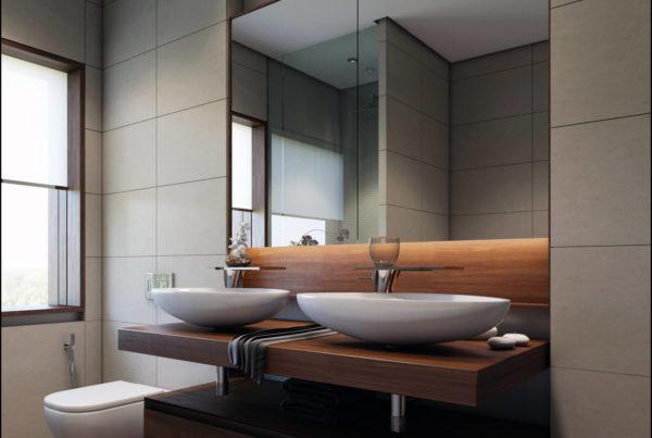création d'un visuel 3D pour architecte d'intérieur