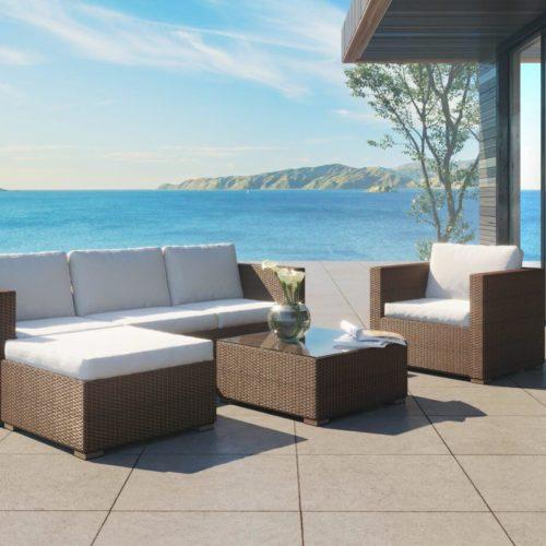 service de création de visuel 3D pour du mobilier d'extérieur