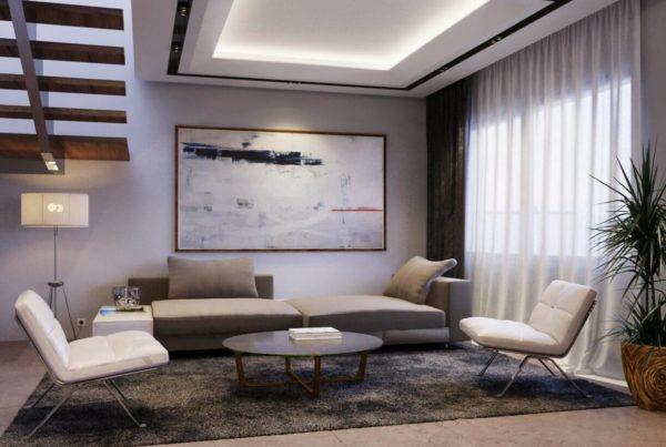 perspective 3D d'architecture pour un designer