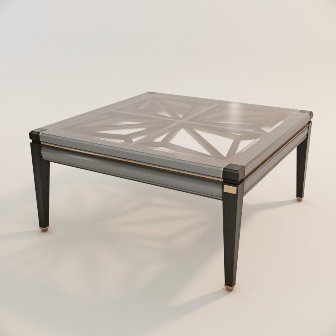 visuel 3D du prototype d'une table réalisé avec la modélisation 3D photoréaliste