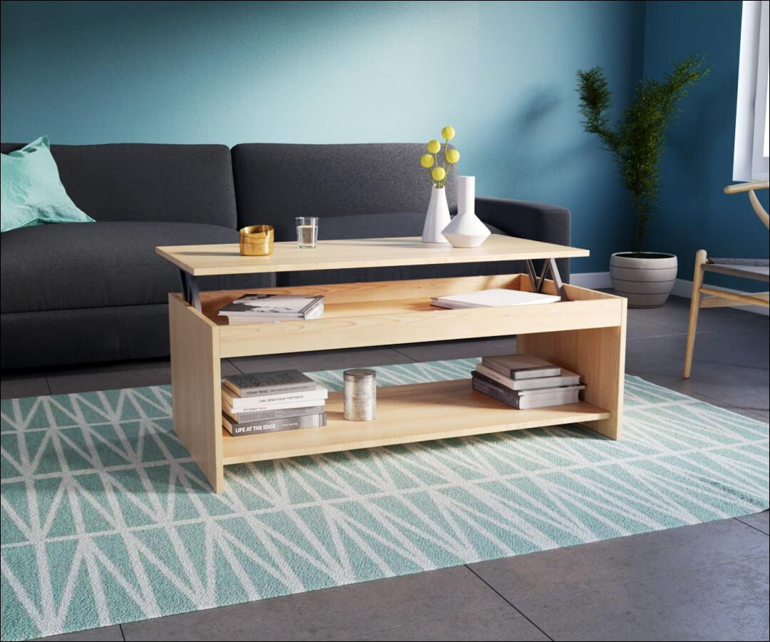 la mise en situation de meuble permet de se rendre compte de la dimension du mobilier