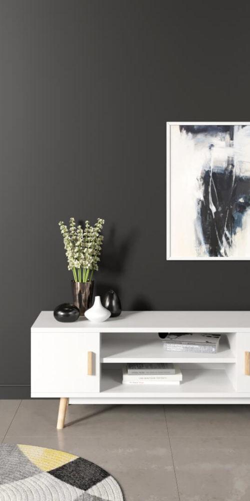 Visualisation 3D d'un meuble TV ou d'entrée - tarif du rendu 3D de meuble