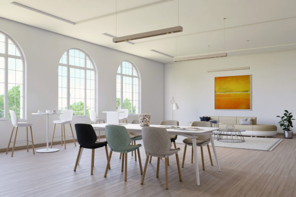 perspectiviste 3D - réalisation d'une salle de réunion