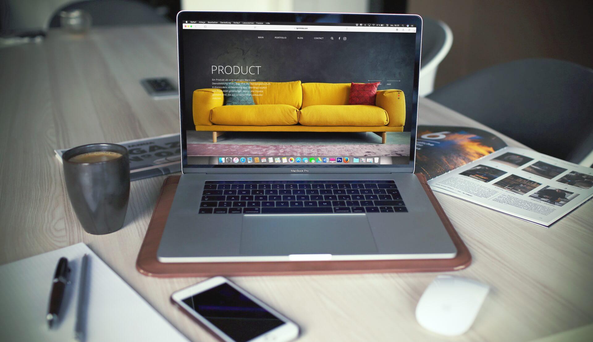 maintenez votre site de vente en ligne de meuble à jour