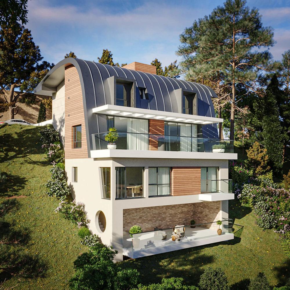 rendu 3D d'architecture extérieure - exterior cgi rendering